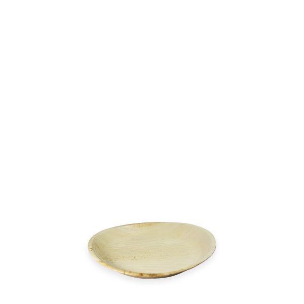 """7"""" Palm Leaf Plate (Round) 300 per case 1"""