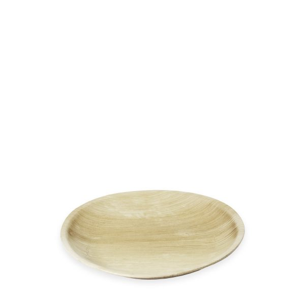"10"" Palm Leaf Plate (Round) 300 per case 1"