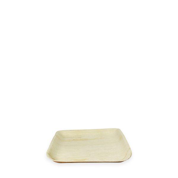 """8"""" x 8"""" Palm Leaf Plate (Square) 300 per case 1"""