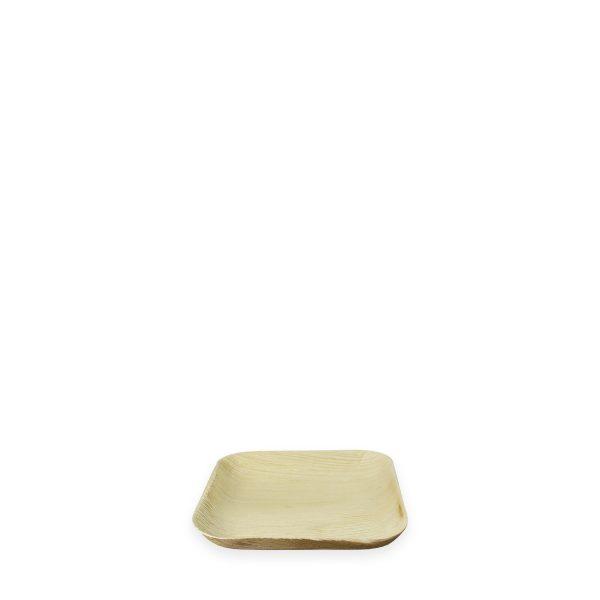 """6"""" x 6"""" Palm Leaf Plate (Square) 300 per case 1"""