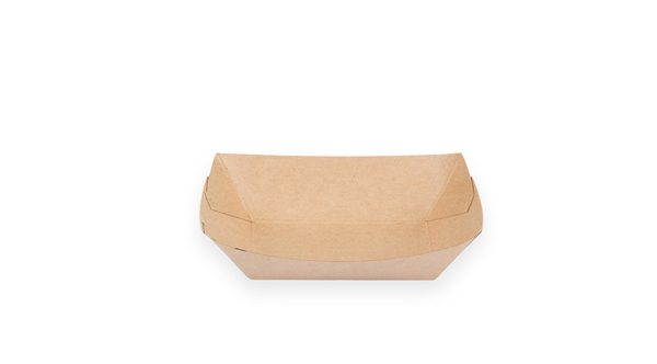 1/4 lb. Food Boat Tray (Kraft) 1000 per case 1