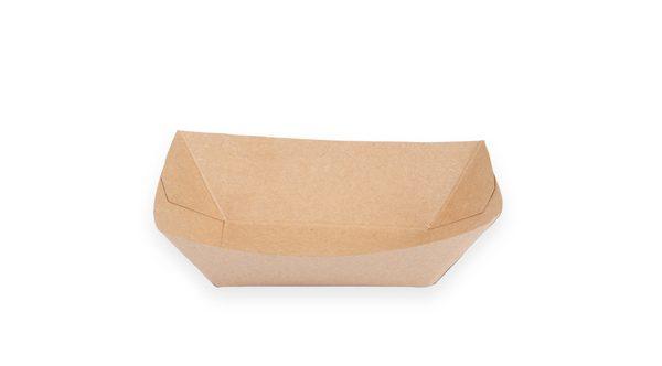 1/2 lb. Food Boat Tray (Kraft) 1000 per case 1