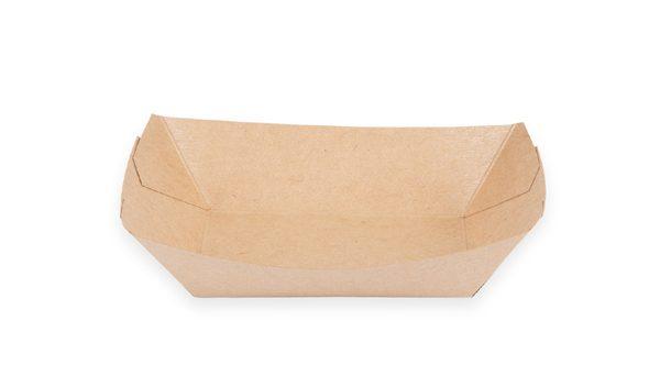 2 lb. Food Boat Tray (Kraft) 1000 per case 1