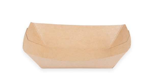 2 1/2 lb. Food Boat Tray (Kraft) 500 per case 1