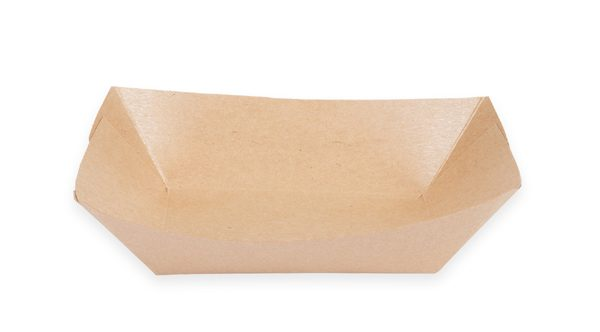 3 lb. Food Boat Tray (Kraft) 500 per case 1