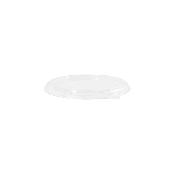 16 oz Shallow Bowl Lid (Clear) 500 per case 1