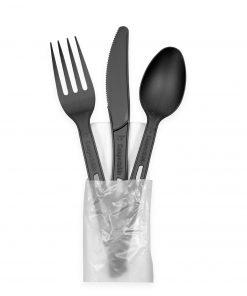 CPLA Black Cutlery