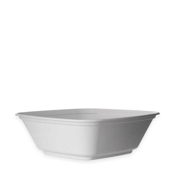 160 oz Fiber Serving Bowl (White) 100 per case 1