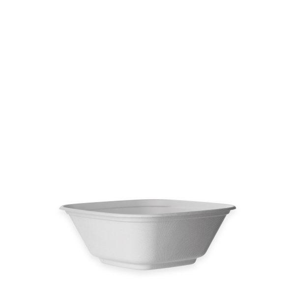 80 oz Fiber Serving Bowl (White) 100 per case 1