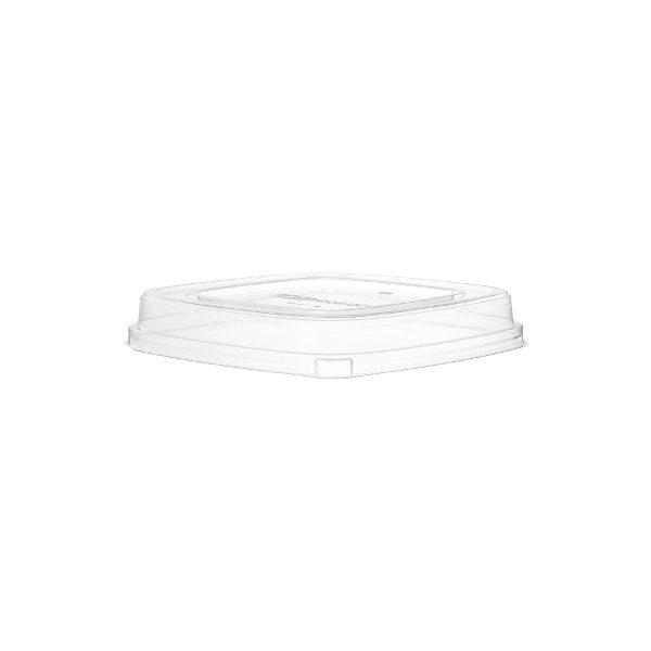 64 & 80 oz Ingeo Serving Bowl Lid (Clear) 50 per case 1