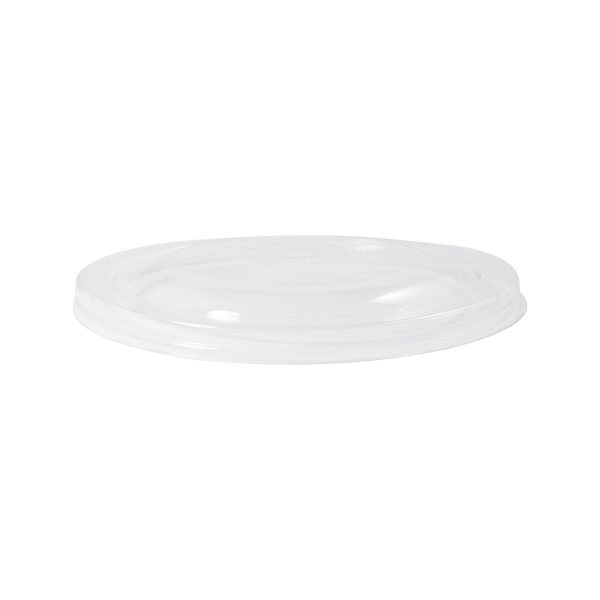 16, 24, 32 oz Ingeo Bowl Lid (Clear) 300 per case 1