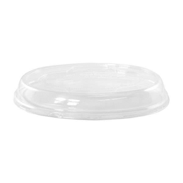 32 oz Ingeo Burrito Bowl Lid (Clear) 300 per case 1
