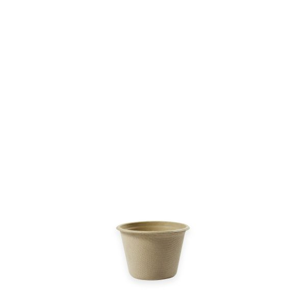 4 oz Fiber Portion Cup (Kraft) 1000 per case 1