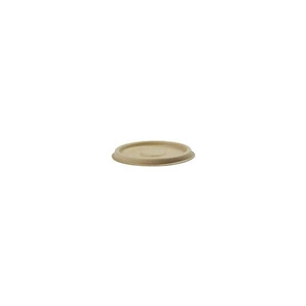 4 oz Fiber Portion Cup Lid (Kraft) 1000 per case 1