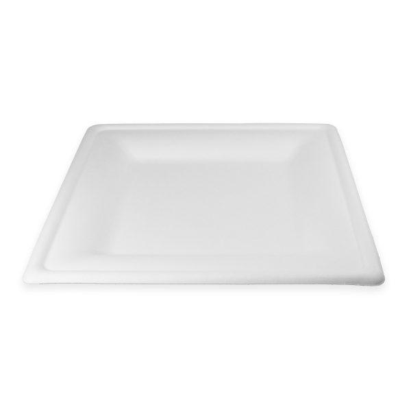 10 x 10 Fiber Plate (Square) 250 per case 1