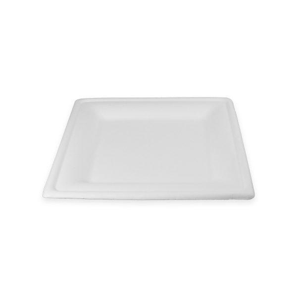 8 x 8 Fiber Plate (Square) 500 per case 1