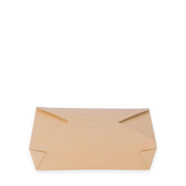 7.75 x 5.5 x 2   Food Box (Kraft) 200 per case 1