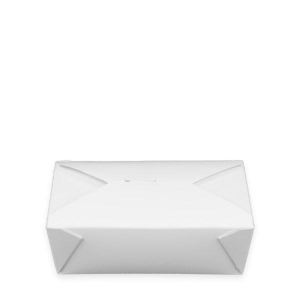 7.75 x 5.5 x 2.5 | Food Box (White) 200 per case 1