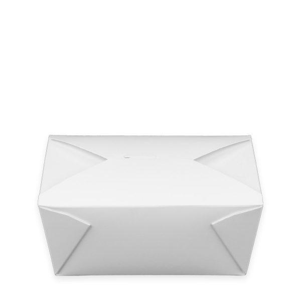 7.75 x 5.5 x 3.5   Food Box (White) 160 per case 1
