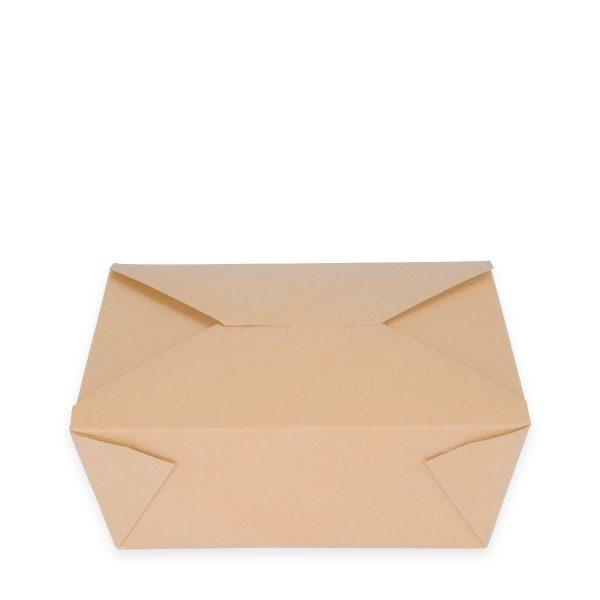 7.75 x 5.5 x 3.5 | Food Box (Kraft) 160 per case 1