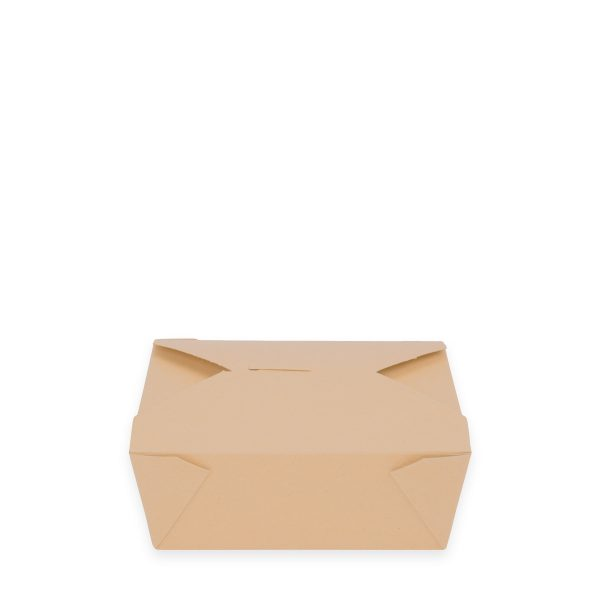 6 x 4.75 x 2.5 | Food Box (Kraft) 300 per case 1