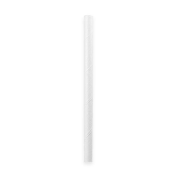 7.75 Unwrapped Paper Straw 3200/cs 1