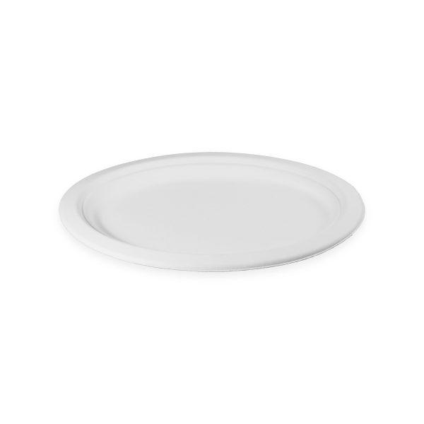 10.5 x 7.8 Fiber Plate (Oval) 500 per case 1