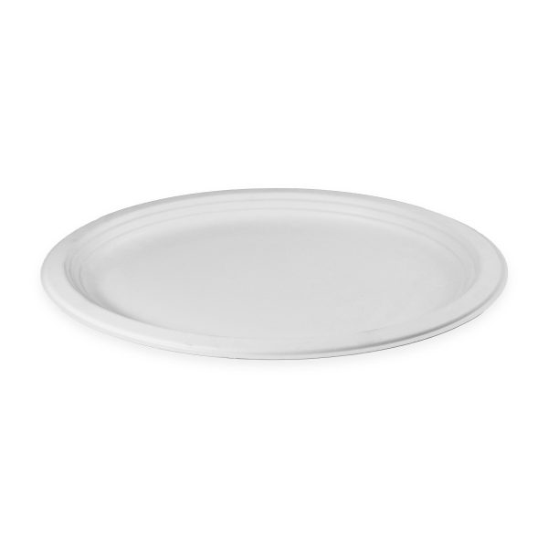 12.5 x 10 Fiber Plate (Oval) 500 per case 1