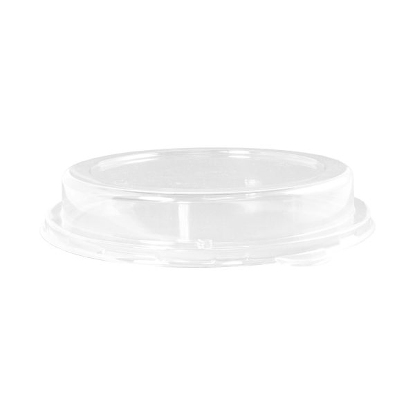 32 oz Fiber Bowl Dome Lid (Clear) 200 per case 1