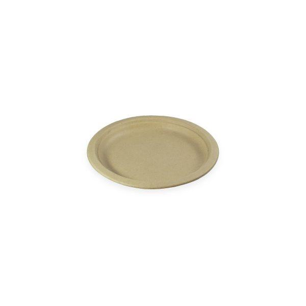 """7"""" Fiber Plate (Kraft) 1000 per case 1"""