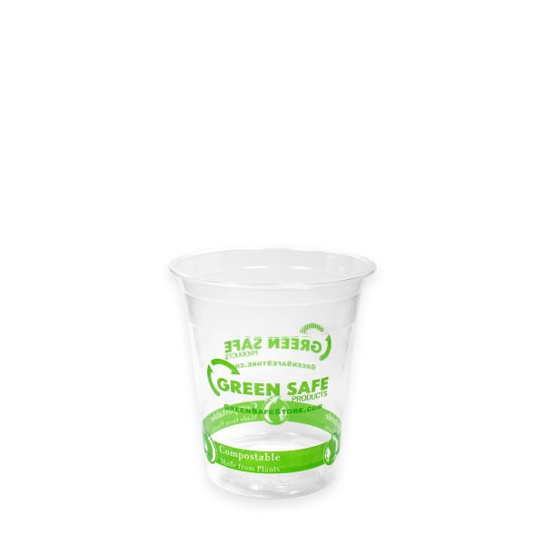7 oz Ingeo Clear Cold Cup 2000 per case 1
