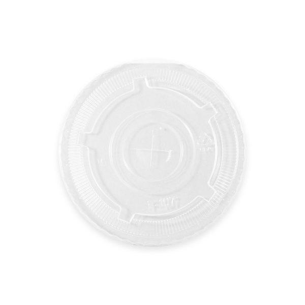 Ingeo Clear Cold Cup Flat Lid (32oz) 600 per case 1
