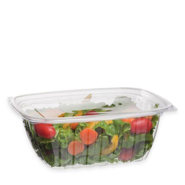32 oz Ingeo Deli Container (w/ Hinged Lid) 200 per case 1