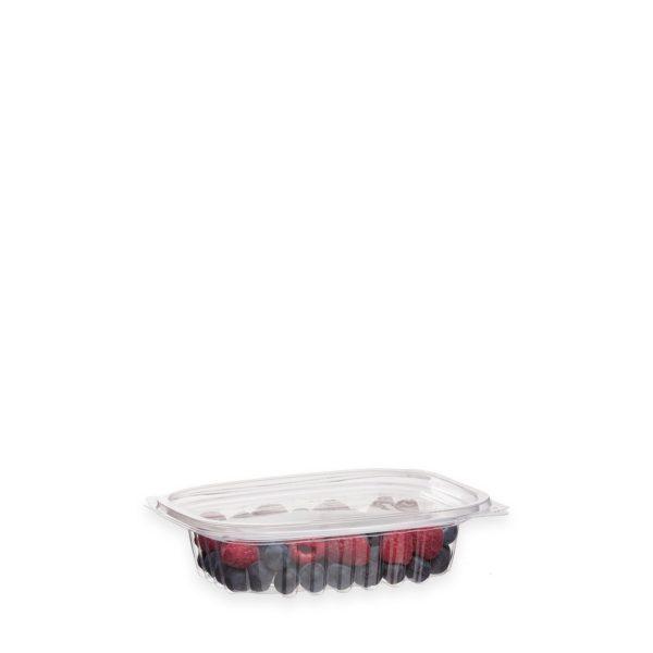 8 oz Ingeo Deli Container (w/ Hinged Lid) 300 per case 1