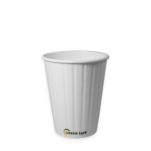 12 oz Double Wall Compostable Hot Cup 1000 per case 1