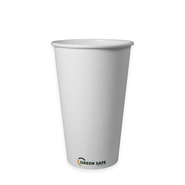 16 oz Single Wall Compostable Hot Cup 1000 per case 1