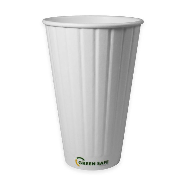 20 oz Double Wall Compostable Hot Cup 600 per case 1