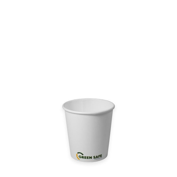 4 oz Single Wall Compostable Hot Cup 1000 per case 1