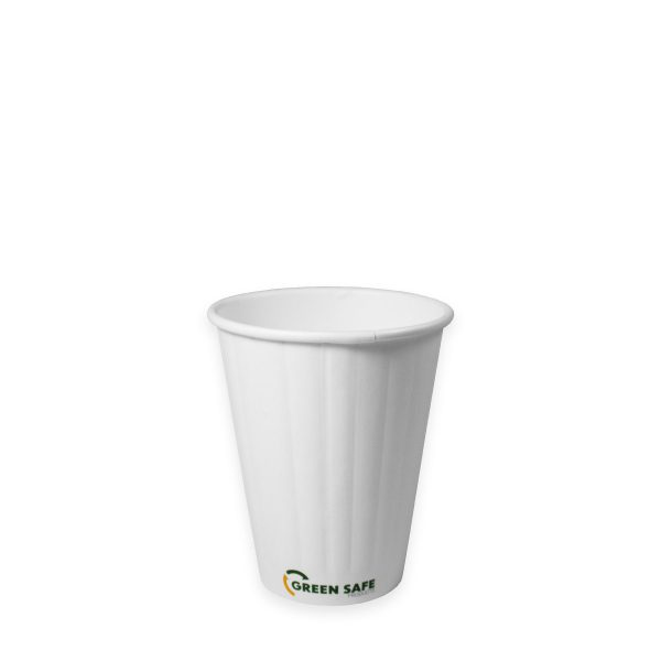 8 oz Double Wall Compostable Hot Cup 1000 per case 1