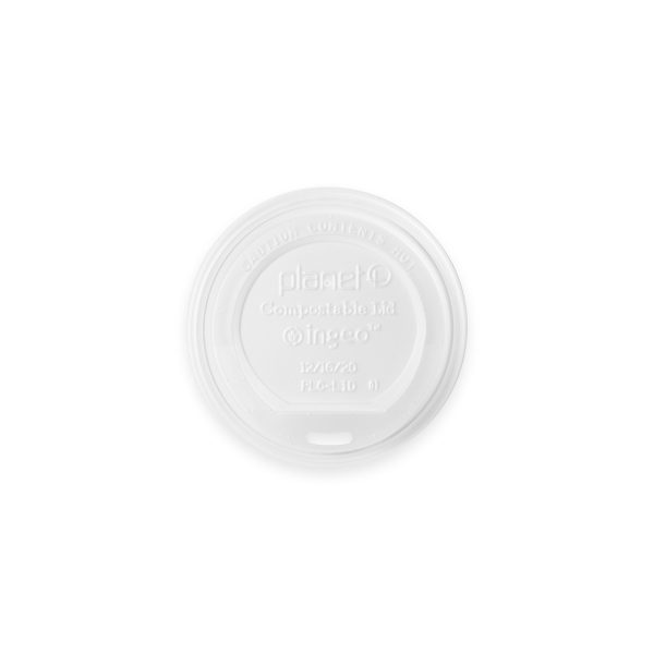 Compostable Hot Cup Lid (10-20 oz) 1000 per case 1