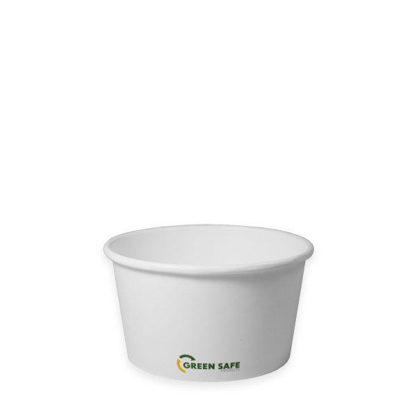 12 oz Compostable Paper Soup Cup 500 per case 1