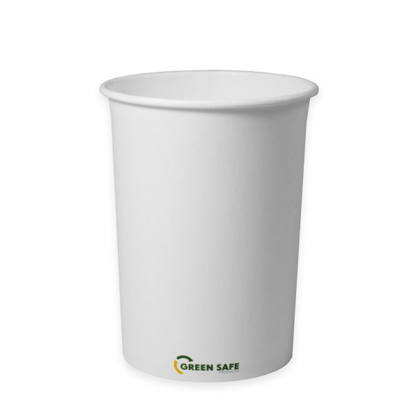 32 oz Compostable Paper Soup Cup 500 per case 1