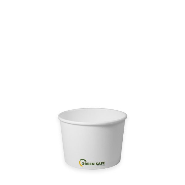 8 oz Compostable Paper Soup Cup 1000 per case 1