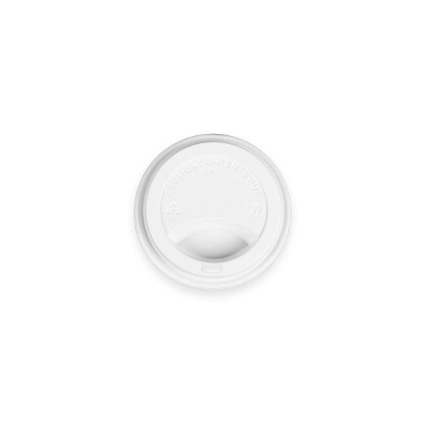 White Hot Cup Lid (8 oz) 1000 per case 1