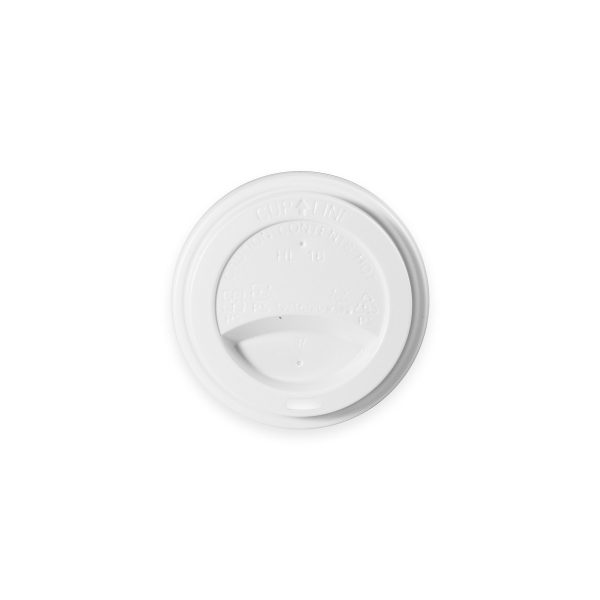 White Hot Cup Lid (10-20 oz) 1000 per case 1