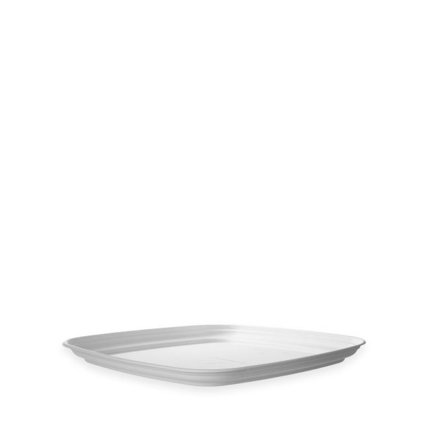 18 x 18 | Fiber Catering Tray (White) 100 per case 1