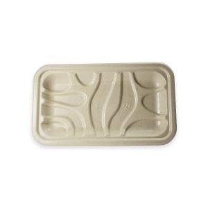 8 x 5.75 x 6.5 | Fiber Meat & Produce Tray (Ingeo Lined) 500 per case 3