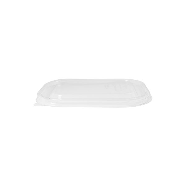 8 x 6 x 1.5 | Ingeo Container Lid (Clear) 400 per case 1